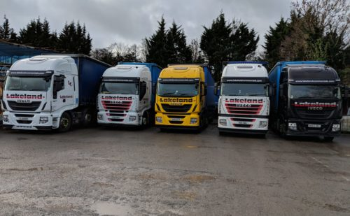 Pallet Distribution - <p>Lakelands team have built a reputation as a safe reliable pallet delivery service provider across Cumbria, Lancashire and the rest of the UK.</p>